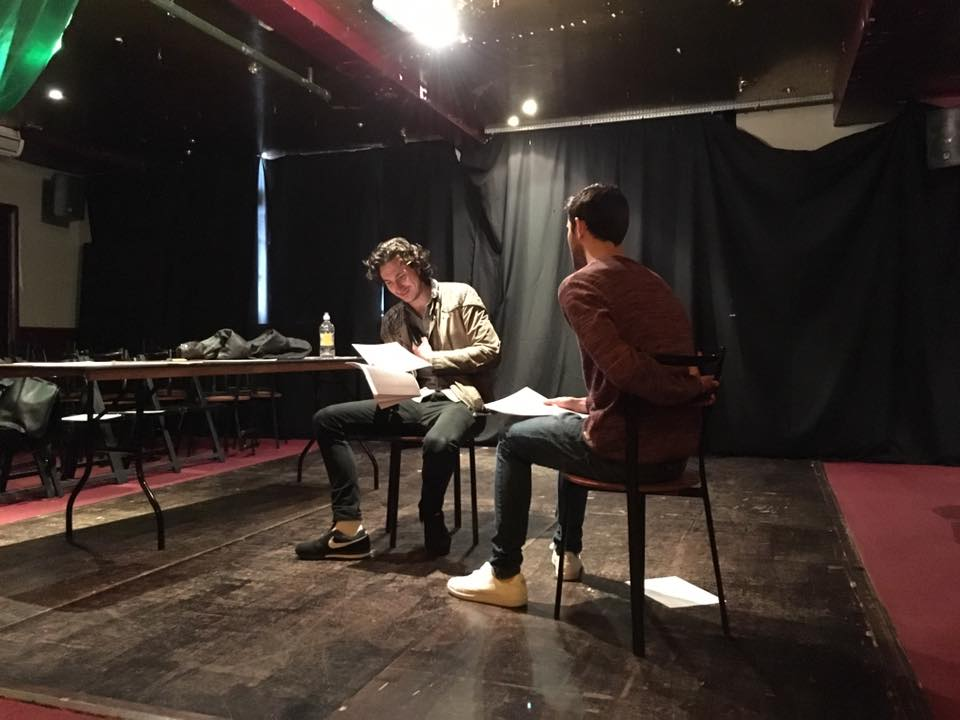 danny and shaun read through