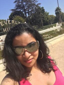 Beverly hills selfie